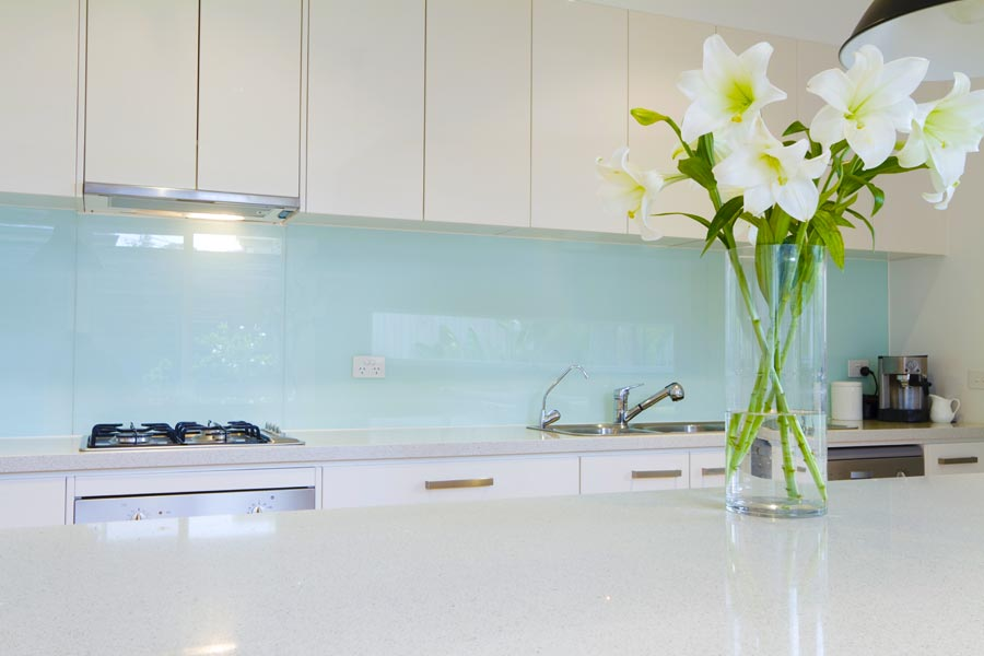 Alternative kitchen splashbacks azztek kitchens - Splashback alternatives ...