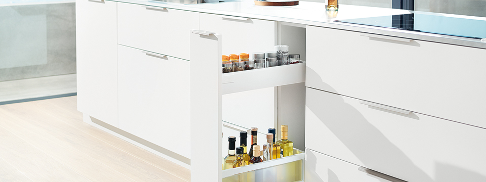 blum 39 s idea for narrow cabinets azztek kitchens